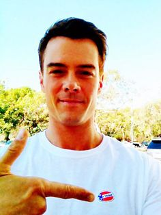 Josh Duhamel voted!