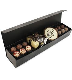 The Sleekster Chocolate Love Box is a great Valentine's day gift www.eden4chocolates.co.uk