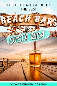 There are a lot of amazing beach bars in Costa Rica. Find out all the details about the best places to get a drink in Costa Rica Beach Vacation Tips, Beach Trip, Beach Vacations, Travel Usa, Travel Tips, Travel Guides, Travel Advice, Khao Lak Beach, Lamai Beach