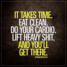 It takes time. Eat clean. Do your cardio. Lift heavy shit. And you'll get there. #bepatient #trainhard #eatclean