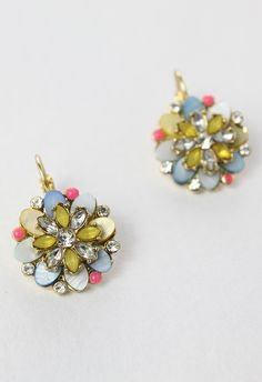 Blooming Flower Beads Earrings - Accessory - Retro, Indie and Unique Fashion
