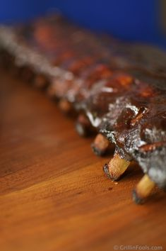 Fall off the bone ribs are not all that hard to do. We provide step by step, picture by picture instructions and lots of cool tips. | How to Make Fall Off the Bone Ribs | http://grillinfools.com