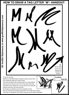 """m drawing   ... Draw A Graffiti Master-Piece """" to learn to draw your own graffiti"""