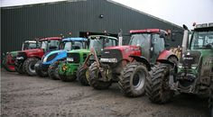 Four mid-horsepower tractors being tested by a Devon contractor. See what he thought of the Case Puma 210, Fendt 718 Vario, John Deere 6930 Premium and Landini Landpower 135 at www.powerfarming.co.uk