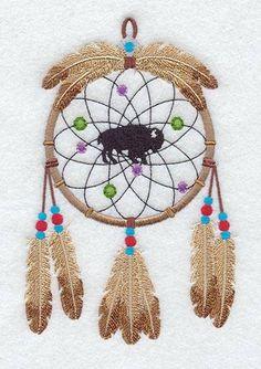Embroidered Dream Catcher