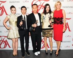 PHILLIP AND THE OTHER #SWAROVSKI WINNERS: JOSEPH ALTUZARRA FOR WOMENSWEAR AND TABITHA SIMMONS FOR ACCESORIES