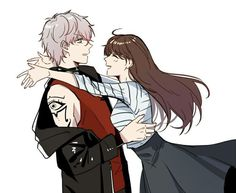 Image shared by Şħouŧo. Find images and videos about anime, zen and mystic messenger on We Heart It - the app to get lost in what you love. Mystic Messenger Unknown, Mystic Messenger Fanart, Jumin X Mc, Saeran Choi, Jumin Han, Fanarts Anime, Cute Anime Couples, Anime Love, Images