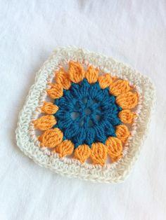 Granny #258 - 15 September 2014 #crochetmoodblanket2014 #sylphdesigns http://sylph.ee