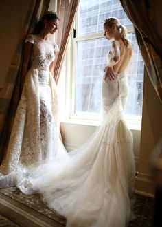 #Berta #Bridal Spring/Summer 2016 Collection {Part II} // Maria Elena Headpieces // Duke Images