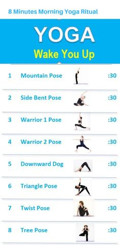 workout routine with weights The 8 minutes morning yoga exercises are easy to and gently wake you up to seize your day! Video tutorials are included in the post. Start to practice your 8 minutes morning yoga today! Yin Yoga, Yoga Meditation, Yoga Mattutino, Kundalini Yoga, Pranayama, Yoga Fitness, Fitness Workouts, Enjoy Fitness, Health Fitness