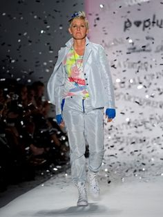 Ellen DeGeneres: Runway model.  Love her. She is a constant inspiration! Wish I could meet her one day.