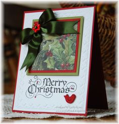 Inkadinkado Christmas Cards | here are the individual cards 6 is my favorite card 1