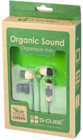 Biodegradable earbuds
