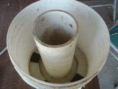 how to make a combustion chamber for a rocket stove