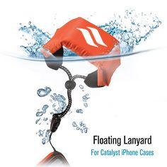 Catalyst® Reflective Floating Lanyard - High Visibility Reflective Orange