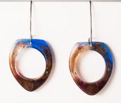 Unique Deep Sea Rigel Dangle Earrings by karinadelirio on Etsy, £27.00