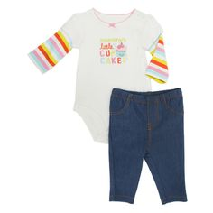 Carter's® Infant Girl Mommy's Little Cupcake Outfit #VonMaur