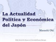 Actualidad política y economía del Japón (Masashi Oki)