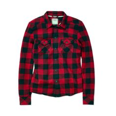 Autumn 2013 Flannel Long Sleeve Turn down Collar Red and Black Plaid Womens Blouse Shirt Tops with Pocket Free Shipping-in Blouses & Shirts ...