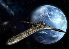 Stargate Universe digitale Kunst glänzend Print von SaganDigitalArt