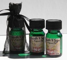 SALE Absinthe and Sugar Hand blended Artisan Perfume Oil 5 Ml.  via Etsy. by Bloodbath