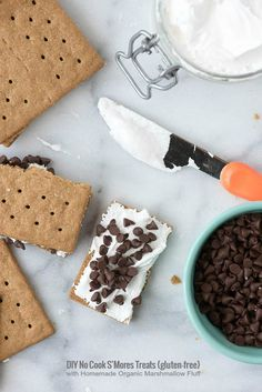 DIY No Cook S'Mores