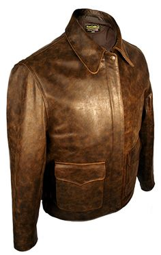 This is our standard Crusade jacket the standard Last Crusade comes in Pre-distressed - the toughest of our standard skins The jacket is taken from