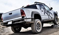 DEMELLO OFF-ROAD REAR WRAP AROUND 05 BUMPER DeMello Off-Road Tacoma wrap around rear bumper. These bumpers are built from 1.75in round tube .120 wall. We use a 3/8in mounting plate with built in shackle recovery tow point.