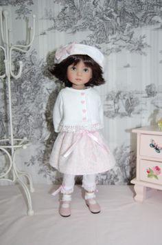 Tenue-pour-poupee-Little-Darling-dianna-Effner-13-33-cm