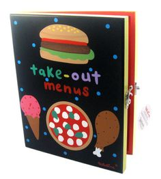 Original Take-Out Menu Box By Tatutina  A place to put take-out menus  all in one organized spot.  $27.95