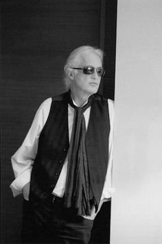 Jimmy Page in japanese press, 2014. Photo: Ross Halfin: