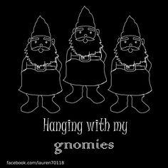 gnomes friends funny