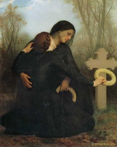 All Souls Day            William-Adolphe Bouguereau  This is gorgeous.