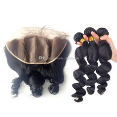 13x4 Silk Base Lace Frontal Closure With Bundles 9a Peruvian Loose Wave Virgin Human Hair Weave Wefts With Silk Top Full Lace Frontals Weft Hair Hair Weave Styles From Lady_virginhair, $134.42| Dhgate.Com