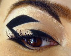 #Graphic #Eye #eyemakeup #makeup
