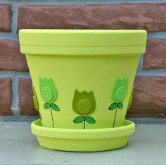Flower Pot Idea                                                                                                                                                                                 Más