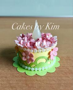 Springtime Tea Light Cake (made by Kim)