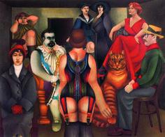 Peinture contemporaine - Richard Lindner - La réunion