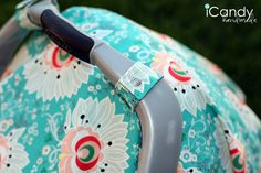 DIY Carseat Canopy. Free pattern. Nice gift.