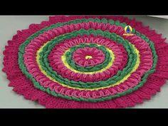 Vida com Arte | Tapete em crochê por Maria José - 01 de Fevereiro de 2016