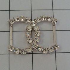 Swarovski Crystal CC BUCKLES Crystal Buckles by allysonjames