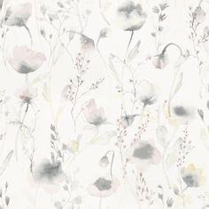 Lo by Sandberg - Pink / Grey - Wallpaper : Wallpaper Direct