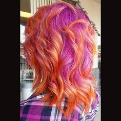 #thelegacysalon #hairbyhannahpeterson #hair #haircolor #color #vividcolors #crazyhair #crazycolors #joico #joicointensity #pinkhair #orangehair #americansalon #modernsalon #stylistsupportstylist #behindthechair #spectrumhair #hairstylist_tribe #unicorntribe #cullmanhair #cullmanal #cullman #cullmamhairstylist #gorgeoushair #beautifulhair #curls #curlyhair #curly #hairstylist #haircut