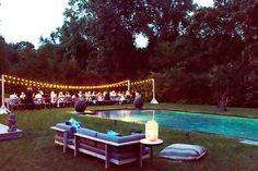 How to Throw a Summer Hamptons Dinner Party Like Athena Calderone via @MyDomaine