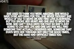 Used to.....