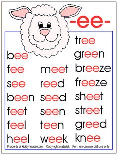 Kindergarten Reading Worksheets | First Grade Reading Worksheets » Reading Faster is Easy