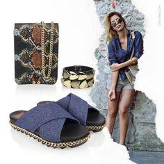 Produção cheia de tendências super modernas. Encontre bolsa, pulseira e flat com descontos no shop.miezko.com.