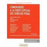 Comentarios a la parte especial del derecho penal / Gonzalo Quintero Olivares (director)  10ª ed. Cizur Menor (Navarra) : Aranzadi, 2016