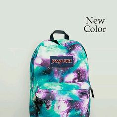 JanSport Galaxy Backpack Airbrush Painted by NosFashionGraphic Mochila Jansport, Sac Jansport, Puppy Backpack, Backpack Purse, Travel Backpack, Cheap Michael Kors, Handbags Michael Kors, Cute Backpacks, School Backpacks
