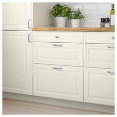 BODBYN Drawer front, off-white, cm BODBYN door has a frame and a bevelled panel that give it a distinct, traditional character Creamy off-white brings a bright, warm touch to your kitchen Ikea Family, Wood Countertops, Wide Plank, Drawer Fronts, Traditional Kitchen, Wood Veneer, Keep It Cleaner, Solid Wood, Kitchen Cabinets